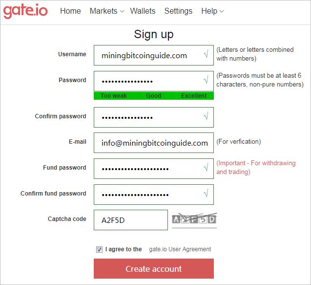 Обзор биржи криптовалют Gate.io