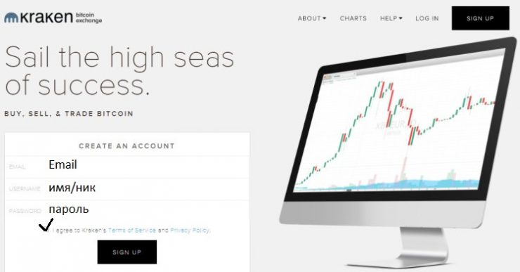 Обзор биржи криптовалют Kraken