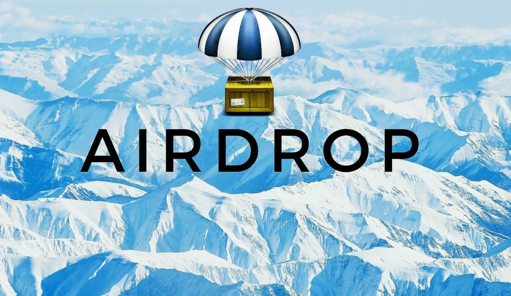 Что такое airdrop криптовалюты